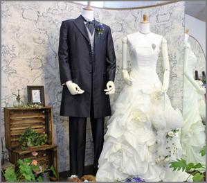 衣装追加(二人分)洋装or和装イメージ写真