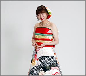 オリエンタル和装(新婦)イメージ写真