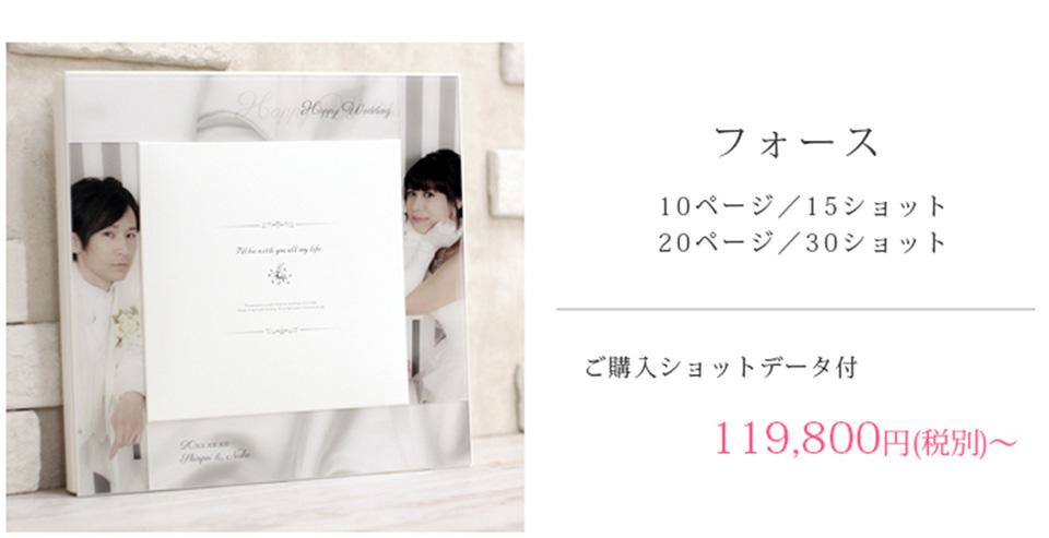 フォース 0ページ/15ショット 20ページ/30ショット ご購入ショットデータ付 119,800円(税別)~